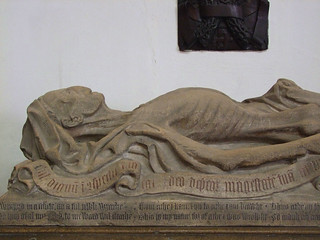 The rotting corpse of John Baret (1467)