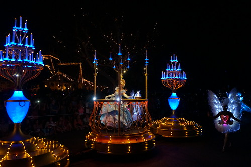 "Cinderella in the Paint the Night Parade • <a style=""font-size:0.8em;"" href=""http://www.flickr.com/photos/28558260@N04/20067948543/"" target=""_blank"">View on Flickr</a>"