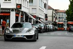 918 (Paul_DB5) Tags: france canon porsche hybrid exclusive supercar v8 bayonne paysbasque 918 carspotter porsche918spyder