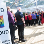 Loud & Proud Choir open the Book Festival