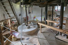 Holgate Windmill stones floor, July 2015 - 4