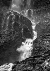 Cairn at Bow Glacier Falls (Explore 8/20/2015) (Patty Bauchman) Tags: canada nature water landscape waterfall cairn albertacanada banffnationalpark bowlake bowglacierfalls bowglacier