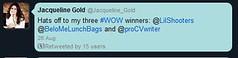 wow winner notification (proCVwriter) Tags: wow award announcement winner prize tweet twitter