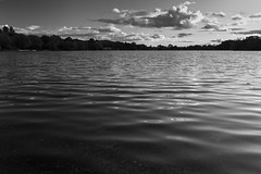 Light waves (C h i r a g) Tags: light bw lake art nature monochrome beautiful mono moody photooftheday rickmansworth aquadrome