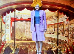 Norma Jean Always Wanted to be Queen of the Circus: An Homage to Marilyn Monroe (joannmuench) Tags: portrait woman collage female vintage circus antique surrealism marilynmonroe dream surreal multimediaart retro indoors fantasy expressionism moviestar inside homage surrealistic normajean expressionistic circusshow queenofthecircus womanwithcrown cutandpastecollageart oldfashionedcutandpastecollage