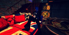 Kicking back with Martini (RexxRyden) Tags: sl photoblog secondlife