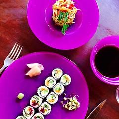 Vegan cauliflower sushi!