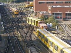 Rangierfahrten 11 (Berliner U-Bahn) Tags: berlin germany underground subway deutschland metro ubahn bvg theunderground shunting berlinerubahn rangierfahrt