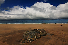 Gwithian Beach (Peter Sincock) Tags: lighthouse beach clouds canon cornwall bluesky tokina 1224mm godrevy gwithian eos70d