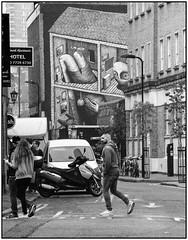 Rivington Street (Mabacam) Tags: blackandwhite bw white streetart black london monochrome grey mural wallart streetscene urbanart shoreditch freehand publicart aerosolart spraycanart eastend phlegm rivingtonstreet 2015 urbanwall