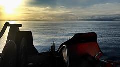 Breiafjararblan... (Tabergid) Tags: sunset sea iceland breiafjrur iphonography autoline