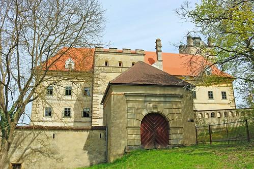 Greillenstein. Vorwerk. Altes äusseres Schlosstor 1590