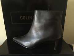 Colin Stuart Ankle Boots Brown (Pointe Shoes Punk Rock And Purl Pix) Tags: leather ebay boots footwear 1980s nib victoriassecret 1990s ankleboot midheel colinstuart