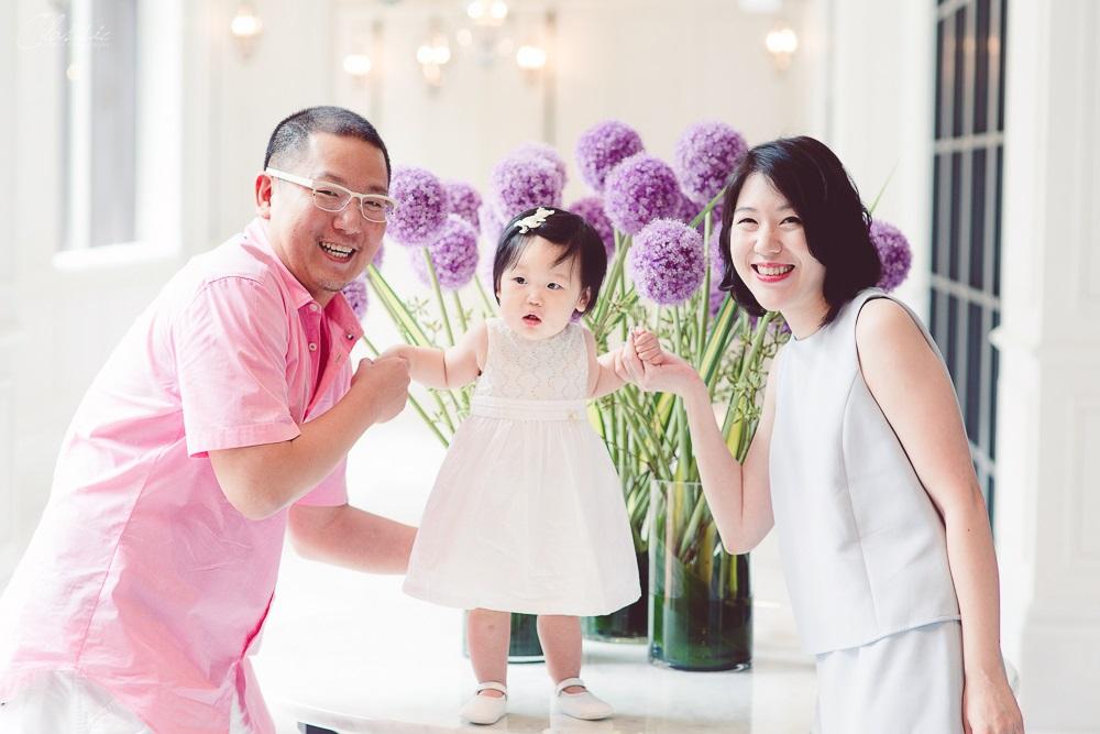 寶寶週歲抓週宴拍照攝影師台北文華東方酒店6F意大利餐廳Bencotto