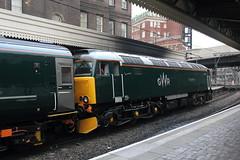 57603 London Paddington (Paul Emma) Tags: uk railroad england london train railway paddington londonpaddington dieseltrain class57 57603