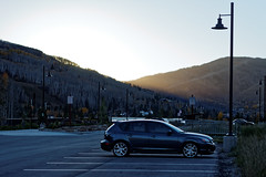 Mazdaspeed3 (BenWestPhotography) Tags: fall car canon 50mm evening colorado automotive vail co dxo mazda ef vailvalley mazdaspeed 50mmf18 mazdaspeed3 40d canon40d opticspro10