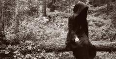 DSC010771 (stine_silverlance) Tags: blackandwhite darkness evil elven huldra