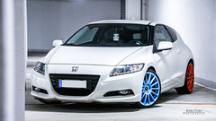 honda crz 1 (DeSined Pictures) Tags: blue white color girl honda germany amazing nikon shoes parking wheels style tires chilling shooting hybrid tuning stance crz 18105mm d3300 desinedpictures