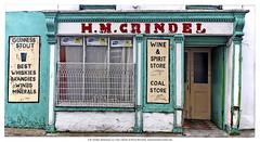H.M. Grindel Pub & Coal Store, Ballyhooly, Co. Cork, Ireland.