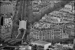 Vue aérienne du métro aérien...logique (mikl.b) Tags: paris métro métroparisien métropolitain mickaelbodot miklb