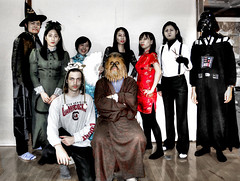 Costume Play - Halloween Party (ogawa san) Tags: party halloween japan  kanagawa sfc fujisawa    costumeplay keiouniversity
