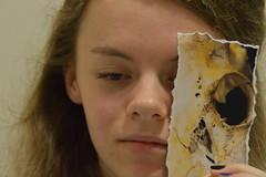 Portrait (Ebony Massey) Tags: portrait skull myphotography benheine