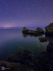 Cdols Blancs (David Maim) Tags: nightscape olympus nocturna mallorca omd deia 10mm caladeia em10 samyang codolsblancs