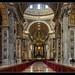 Vatikán_Vatican City_Besilika Svatého Petra_St. Peter's Basilica
