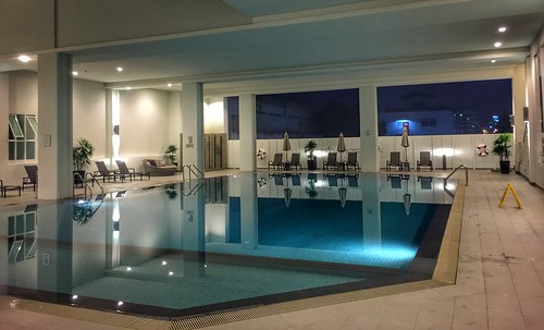 Quiet at the pool tonight....