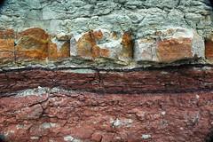 Wanakah Formation (Middle Jurassic; roadcut near Artists Point, Colorado National Monument, Colorado, USA) 6 (James St. John) Tags: monument point marine sandstone colorado formation national artists jurassic shale marginal roadcut siltstone mudstone wanakah mudshale