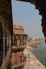 Bhonsale Palace, Varanasi (ghostwheel_in_shadow) Tags: india asia stair steps palace varanasi kashi banaras benares ghat uttarpradesh banares publicarchitecture architecturalelement architectureandstructures bhonsaleghat bhonsalepalace