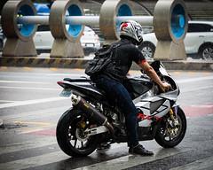 (seua_yai) Tags: street city urban asia go wheels korea motorbike korean seoul motorcycle southkorea urbanmobility korea2015 koreaseoul2015