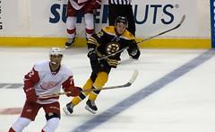 #72 Andreas Athanasiou and #82 Jesse Gabrielle (Odie M) Tags: nhl hockey icehockey boston tdgarden preseason teamsport sport ice skating detroitredwings bostonbruins andreasathanasiou jessegabrielle