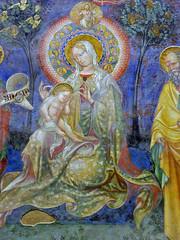 Salimbeni - Madonna enthroned with child (petrus.agricola) Tags: lorenzo jacopo salimbeni scenes life saint john baptist urbino marche italy oratorio san giovanni battista