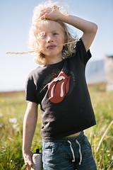 Unnar exploring Suðureyri (Dalla*) Tags: boy kids child explore exploring magical place sudureyri suðureyri tálknafjörður talknafjordur summer bright portrait outside nature straw kidsiniceland wwwdallais