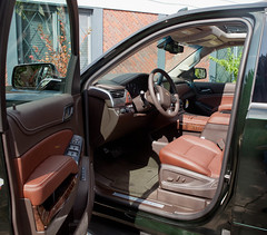 2016 Chevrolet Tahoe LTZ 4X4 SUV  Interior (coconv) Tags: car cars vintage auto automobile vehicles vehicle autos photo photos photograph photographs automobiles antique picture pictures image images collectible old collectors classic blart 2016 chevrolet tahoe ltz 4x4 suv interior envy green chevy 16 cocoa mahogany