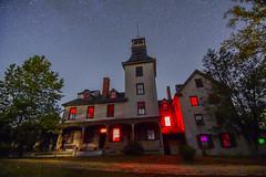 Batsto Mansion (seanbeebe_photo) Tags: batsto mansion night stars nj pinelands newjersey burlingtoncounty nightphotography astrophotography fall