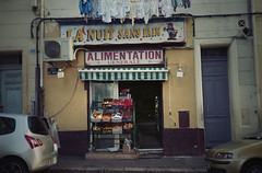(Mistoska) Tags: nightshop street streetphotography analogphotography analog argentique marseille city france south alimentation picerie rue