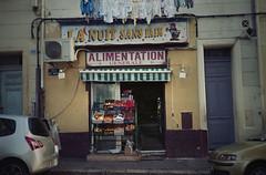(Mistoska) Tags: nightshop street streetphotography analogphotography analog argentique marseille city france south alimentation épicerie rue
