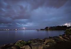 Light show at the lagoon. (Jill Bazeley) Tags: melbourne floridausa brevardcounty ballard park intracoastal waterway indian river lagoon estuary sony alpha a6300 1018mm sel1018 long exposure