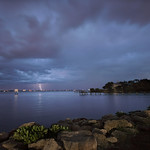 Light show at the lagoon. thumbnail