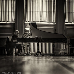 Dyrham pianist (lyndakmorris) Tags: dyrhampark piano harpsicord