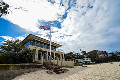 DSC01613 (Damir Govorcin Photography) Tags: sand flag zeiss 1635mm sony a7ii sky clouds balmoral beach sydney nsw australia