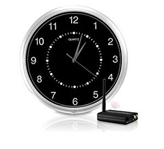 SecurityMan ClockCam Wi-Fi Interference Free Wireless Wall-Clock Hidden Camera Kit (Black) (goodies2get2) Tags: amazonca bestsellers giftideas