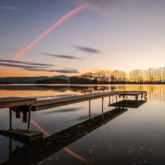 La Sane (Stphane Slo) Tags: ain france hiver paysage pentax pentaxk3ii printemps sane campagne clouds eau landscape nature nuages reflection reflexion