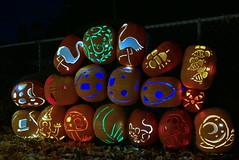 (theleakybrain) Tags: pumpkinnights pumpkin nights mnstatefair p1460107 halloween halloweenwalk minnesota jackolantern jack lantern