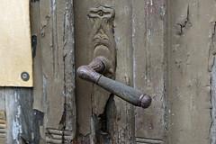 Klinkengarnitur im Jugendstil (schnu-fro) Tags: trklinke klinke handle tr door doorhandle germany jugendstil sebnitz sachsen
