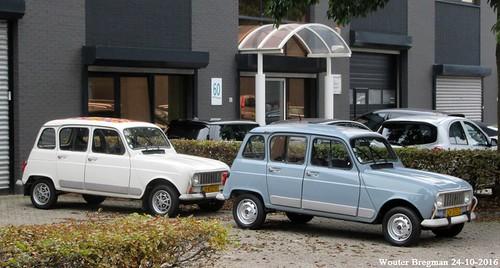2 x Renault 4 GTL (1987 & 1989)