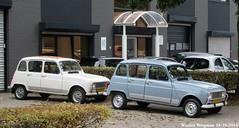 2 x Renault 4 GTL (1987 & 1989) (XBXG) Tags: 9ktz11 gn305z renault 4 gtl renault4 r4 quatrelle amsterdam nederland holland netherlands paysbas vintage old classic french car auto automobile voiture ancienne franaise france frankrijk