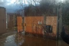 sun3 (lux fecit) Tags: paris saintlouis hospital reflet reflection window sun walls tree storm sky clouds